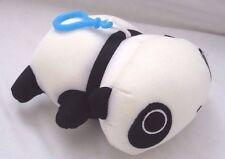 Snow Foam Micro Beads lying Panda Cushion/Pillow Backpack/Purse Clip-Brand New!
