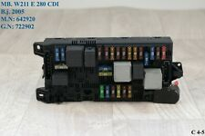 SAM W 211 E 280 CDI Sicherungskasten vorne Automatik 2115454201 Limo OM 642920
