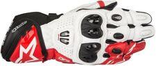 Alpinestars GP Pro R2 Pelle Racing pista Guanti da Moto Nero / Bianco/rosso M