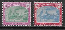 Sudan Portomarken 16/17 postfrisch ** Mi 300 €, gute Qualität.