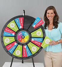 Tabletop Prize Wheel 12 to 24 Slots (31 Inch Diameter)