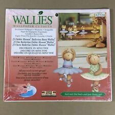 Ballerina Bears Wallies Wallpaper Cutouts Wall Decals Debbie Mumm 12934 new