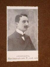 Deputati nel 1909 Masciantonio O. di Gessopalena e Sacchi Ettore di Cremona