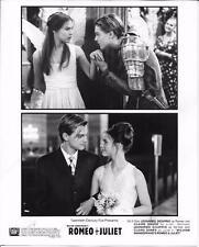"""Leonardo DiCaprio & Claire Danes in """"Romeo & Juliet""""1996 Movie Still"""