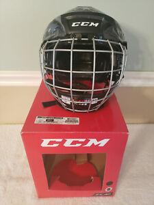 CCM FL40 Hockey Helmet Cage Mask Black Small HTFL40C New!!!!