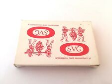 ancien jeu de cartes publicitaires SVG , thème du vin wine theme playing cards