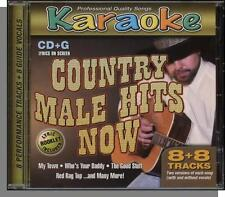 Karaoke CD+G - Country Male Hits Now - New 8 Song CD! Who's Your Daddy, My Town