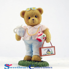 Cherished Teddies Girl with Teapot Amy 2013
