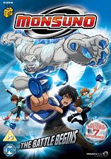 DVD:MONSUNO - THE BATTLE BEGINS - NEW Region 2 UK