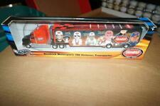 JEFF GORDON HOT WHEELS HENDRICK 100 VICTORIES TRANSPORTER  #1