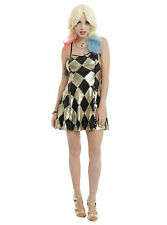 Torrid Suicide Squad Harley Quinn Sequin Club Dress Costume Cosplay Women SM NWT