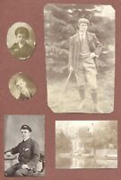 Young man breeches  c 1904, Punt by Bungalow, Dorothy Brand, Naval Youth   JX849