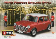 Bburago-septiembre 2002-mini: Perfect English style-made quality Made in Italy