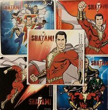 20 Shazam! STICKERS Party Favors Supplies for Birthday Treat Loot Bags