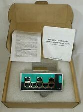 Moxa EDS-208A 8 Port unmanaged Ethernet switches V1.2.0 New Unused