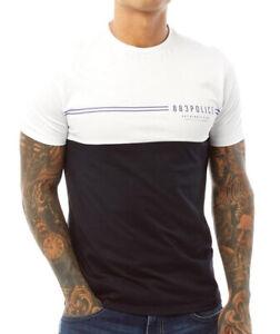 MEDIUM 883 Police Mens Bryden T-Shirt Navy/White BNWT