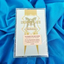 MADONNA SEALED THE IMMACULATE COLLECTION US CASSETTE ALBUM TAPE 1990 PROMO HYPE