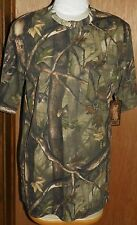 Master Sportsman Brown Camoflauge Short Sleeve Tee Shirt Mens Size 2XL NWT