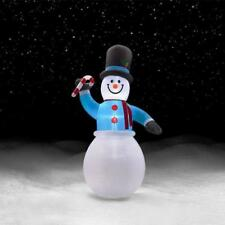 "TRIM A HOME SNOWMAN CHRISTMAS INFLATABLE 144"" (12') - NEW IN BOX!"