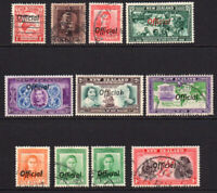 New Zealand 11 Official Stamps Mainly Used (15)