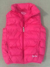 brums giacca a vento bambina nera e rosa double face