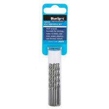 Metal HSS Metric Drill Bits Set 10pc 1mm to 4.5mm for Steel & Wood Bluespot