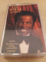 Lou Rawls : Classics : Cassette Tape Album From 1984