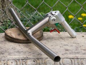 Titanium Handlebar Girvin XST Flexstem Bullmoose Bar Vintage Mountain Bike MTB