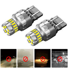 2x 7443 7440 12V SMD LED SUV Car Back Up Reverse Light Bulbs Canbus Accessories