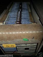 100x ROE SC4 GENUINE 4R7 1/2W CARBON RESISTOR MARSHALL AMP EQUAL PIHER QUALITY !
