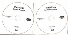 "Metallica ""québec Magnetic"" promo 2dvd set"