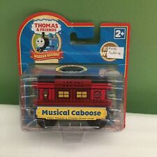 NEW Thomas & FRIENDS Wooden Railway MUSICAL CABOOSE (Dead Batteries) SHIPS FREE