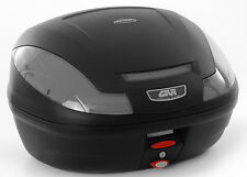 GIVI MONOLOCK E470 TECH 47 litre TOP CASE TRUNK + BASEPLATE - LARGEST MONOLOCK