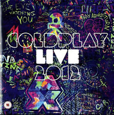 COLDPLAY Live 2012 CD & DVD NEW