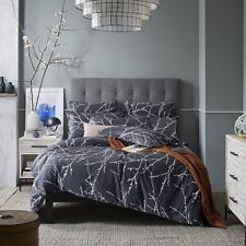 3 Piece Duvet Cover and Pillow Shams Bedding Set, 100% Cotton (Queen Size)