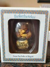 """Boyd'S Bear """"Buzz"""" 2004 Collection Bee Happy Basketbearies #24708 - New!"""