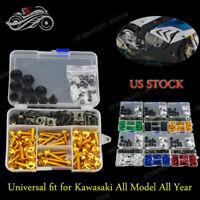 Fairing Bolt Kit Decorative Screws For Kawasaki Ninja ZX9R 1994 1995 1996 1997