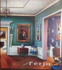 "FERJO BOOK ""DREAMS AND REALITY"" WITH SIGNED BOOK LITHOGRAPH"