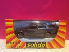 SOLIDO SUPERBE MERCEDES 190E 23 16 NEUF EN BOITE 1/43 R3