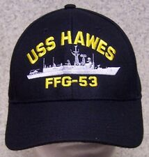 Embroidered Baseball Cap Military Navy USS Hawes NEW 1 hat size fits all