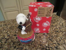 JAPANESE PEANUTS MUSICAL SNOOPY MUSIC BOX