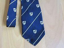 VINTAGE Lloyds Bank Cavallo Nero Logo TERILENE Tie