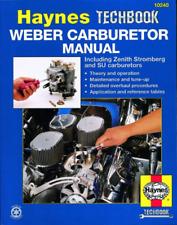 Weber Carburetor Haynes Manual Zenith Stromberg SU Carburettors Techbook NEW