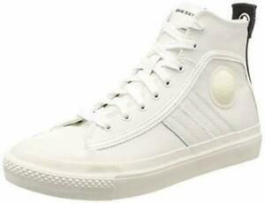 Diesel S-Astico Mid Lace Star White Men's Ankle Boot EUR46 UK Size 11.5