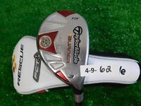 TaylorMade Burner Rescue 19* 3 Hybrid REAX 65 Regular with HC Undersize 39.5""