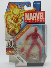 "Marvel Universe 2009 SDCC Exclusive Human Torch 3.75"" Action Figure New In Box"