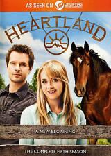 Heartland: A New Beginning - Complete Fifth Season (DVD, 2015, 5-Disc Set) VG