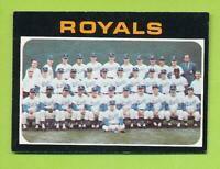1971 Topps Team Card - Kansas City Royals (#742)