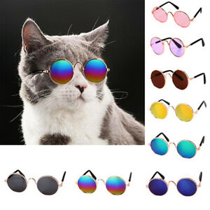 Dog Cat Pet Fashion Glasses Puppy Eye Wear Kitten Sunglasses Funny Costume