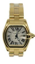 Cartier Roadster Large 18K Yellow Gold Watch W62005V1